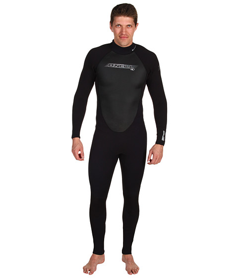 O'Neill - Reactor 3/2 Full 11 (Black/Black/Black) Men's Wetsuits One Piece