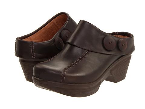 Sanita - Nikolette (Dark Brown Waxy Leather) Women's Clog Shoes