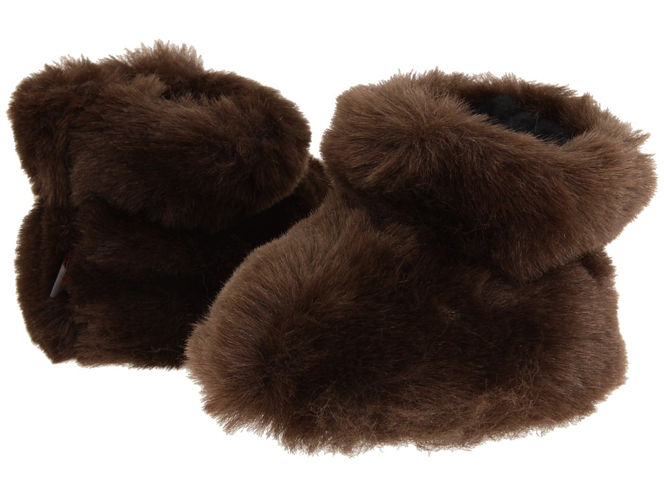 Acorn Kids - Tex Easy Bootie (Infant/Toddler) (Brown Bear) Girls Shoes