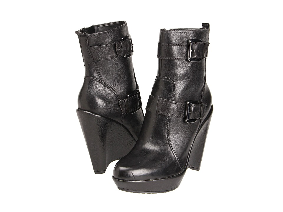 Enzo Angiolini - Carsen (Black Leather) Women's Boots