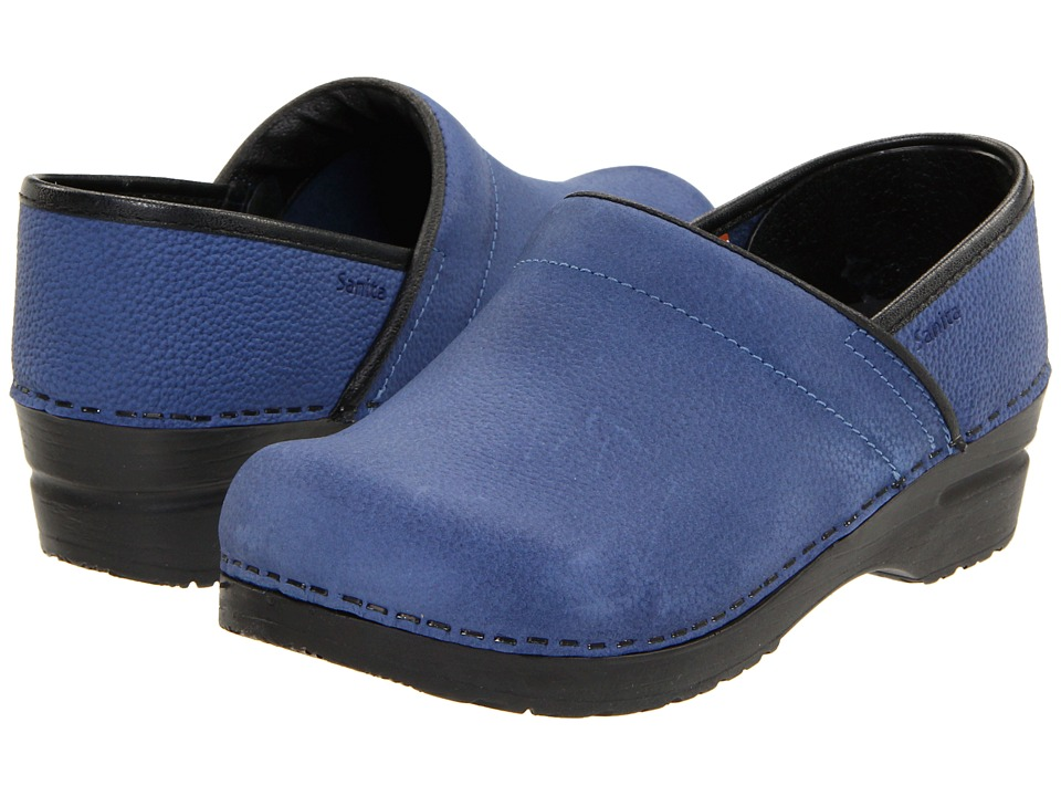 Sanita - Professional Oil (Navy Oil) Women's Clog Shoes