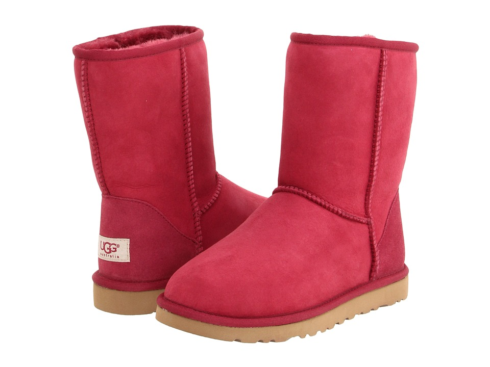 UGG - Classic Short (Sangria) Women's Pull-on Boots