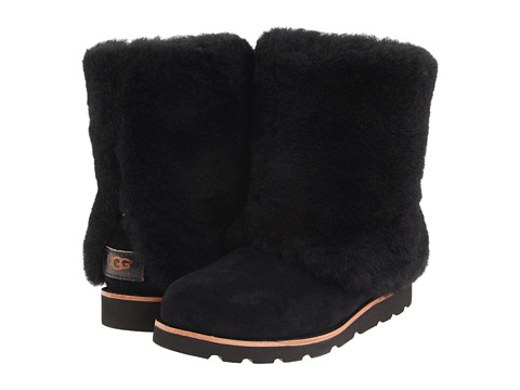 UGG - Maylin (Black Silkee Suede) Women's Cold Weather Boots