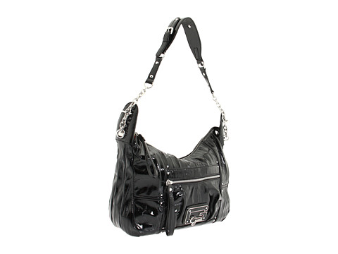 GUESS - Big City Hobo (Black) Handbags