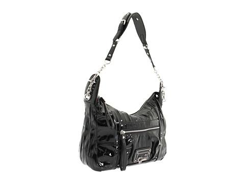 GUESS - Big City Hobo (Black) Handbags