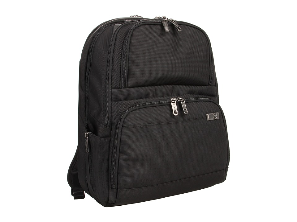 Victorinox - Architecture 3.0 - Big Ben with Security Fast Pass Airport Security-Friendly Laptop Backpack (Black) Computer Bags