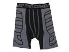 Nike Kids Pro Combat Hyperstrong Heist Slider Short (Big Kids) (Black/Flint Grey/Black)
