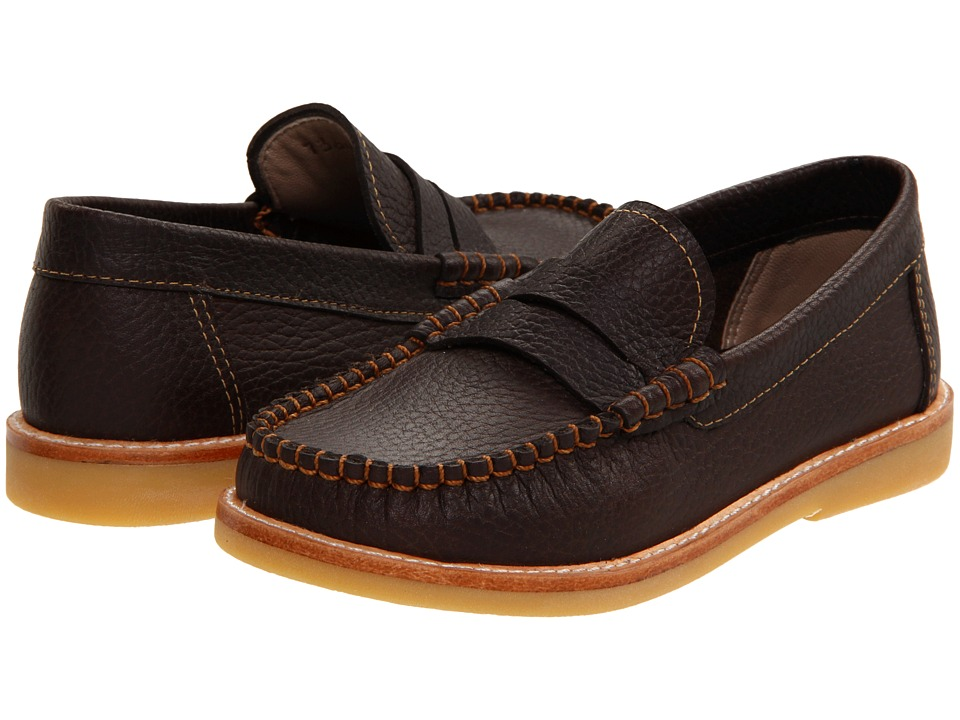 Elephantito - Martin Loafer (Toddler/Little Kid/Big Kid) (Brown 2) Boy's Shoes