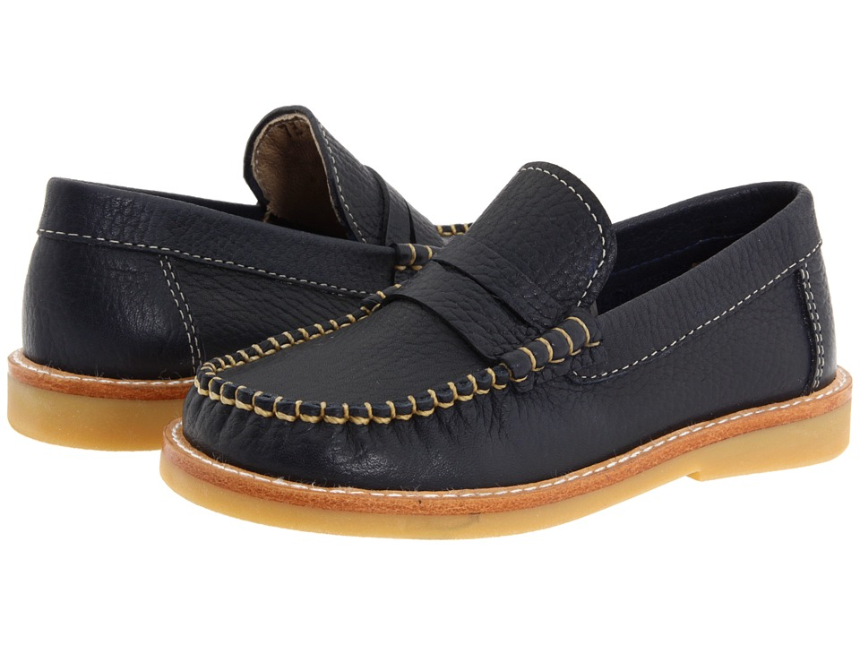 Elephantito - Martin Loafer (Toddler/Little Kid/Big Kid) (Navy 2) Boy's Shoes