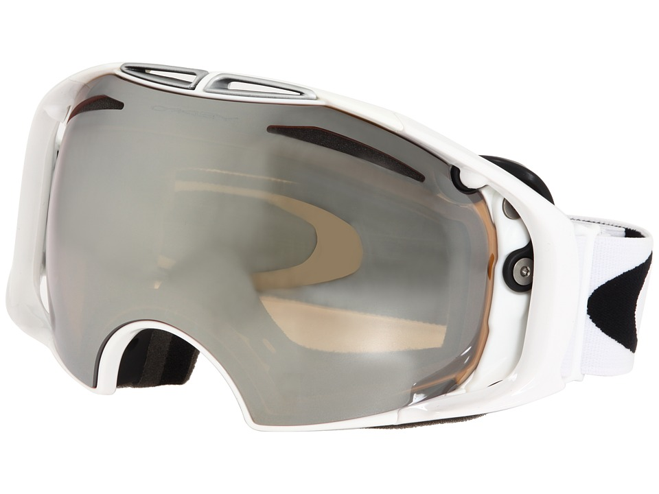 Oakley - Airbrake (Polished White/Black Iridium Lens) Snow Goggles