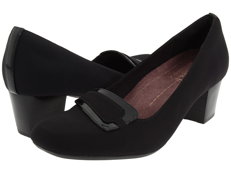 Clarks - Levee Delta (Black Fabric) Women's Shoes