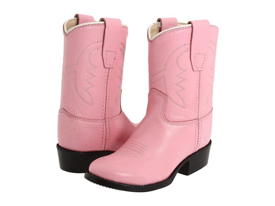 Old West Kids Boots - Western Boot (Toddler) (Pink) Cowboy Boots