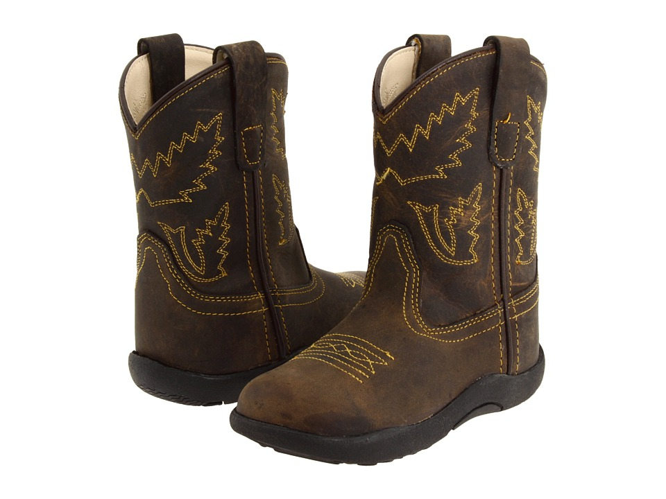 Old West Kids Boots - Tubbies (Toddler) (Apache) Cowboy Boots