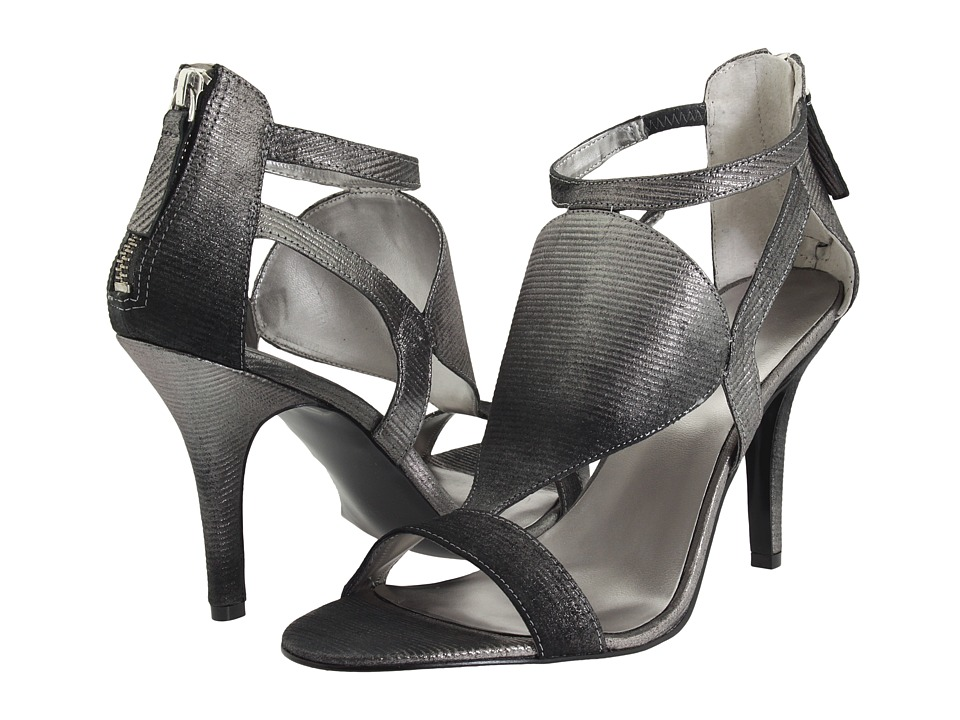 Nine West - Ringading (Pewter Leather) Women's Dress Sandals
