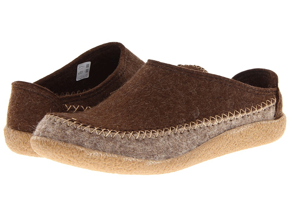 Haflinger - Fletcher (Chocolate/Earth) Slip on Shoes