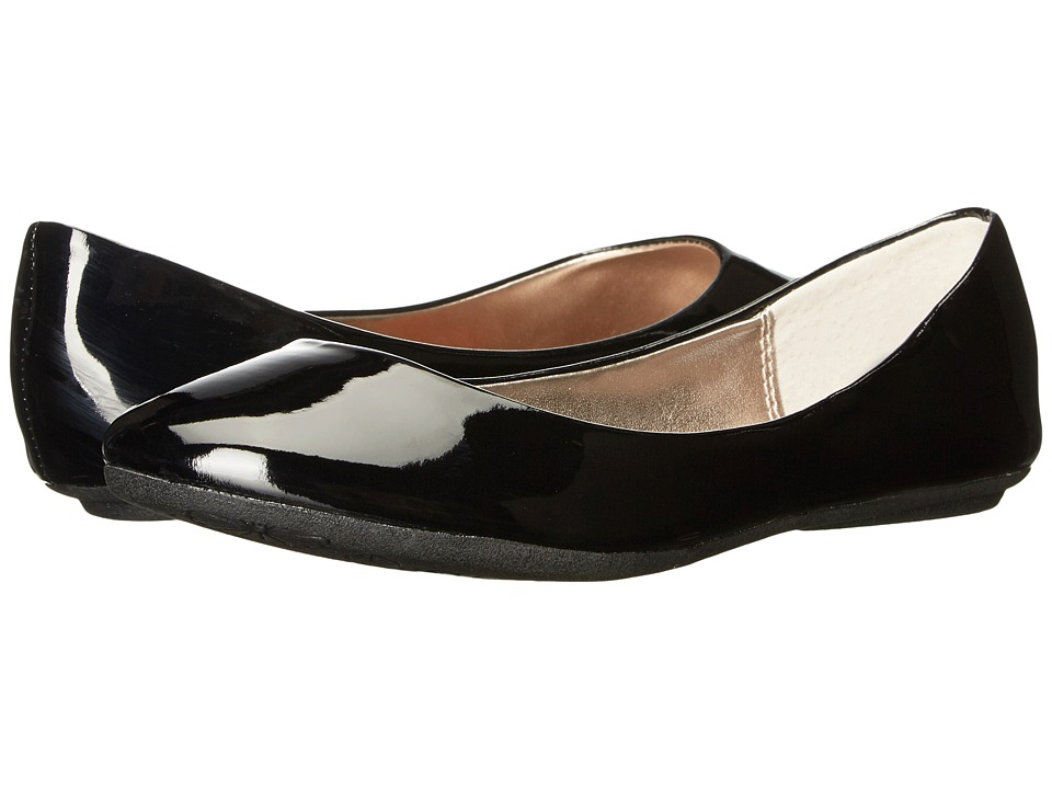 Steve Madden - P-Heaven (Black Patent) Women's Flat Shoes