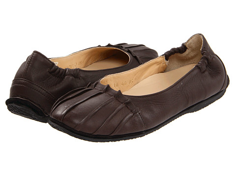 Haflinger - Lm Valarie (Chocolate) Women's Flat Shoes