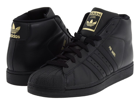 adidas originals black pro model sneaker