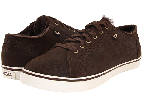 UGG - Roxford TF (Bomber Jacket Chocolate) Men's Lace up casual Shoes