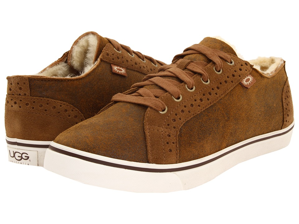 UGG - Roxford TF (Bomber Jacket Chestnut) Men's Lace up casual Shoes