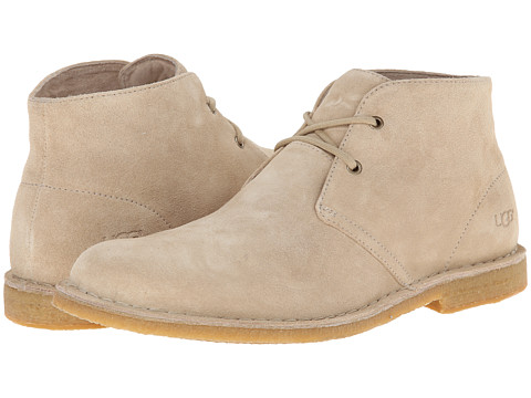 UGG - Leighton (Sand Suede) Men's Dress Lace-up Boots