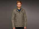 John Varvatos - Modern Military Zip Jacket (Dark Olive) - Apparel