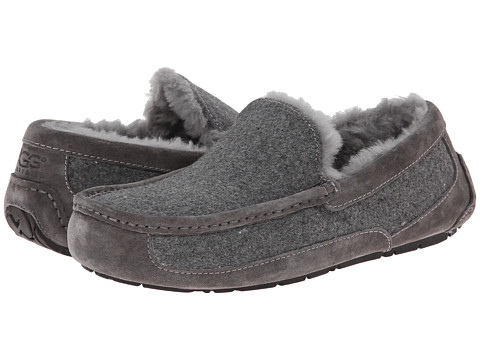 UGG - Ascot Wool (Metal Wool/Suede) Men