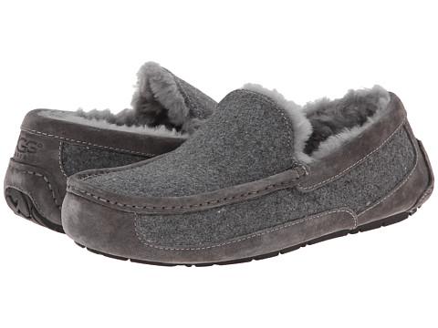 UGG - Ascot Wool (Metal Wool/Suede) Men