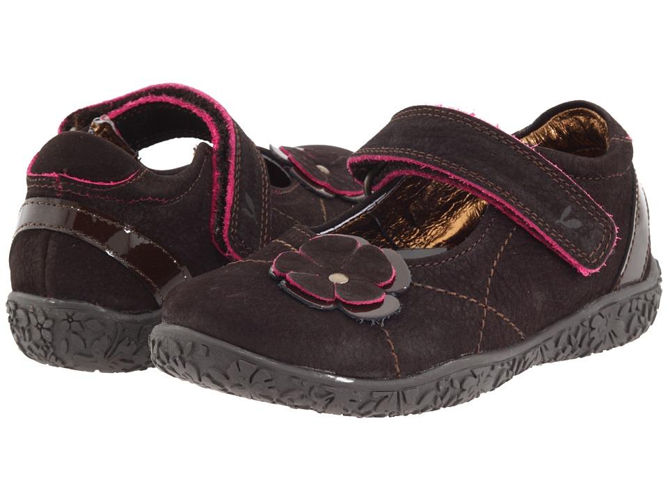 Twig Kids - Jayne (Toddler/Youth) (Brown) Girls Shoes