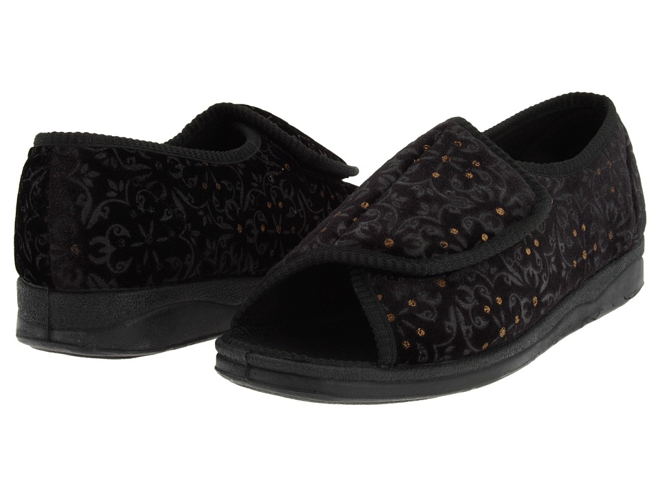 Foamtreads Marla (Black Tapestry) Women