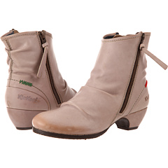 Kickers Elsoft (Beige Leather) Footwear