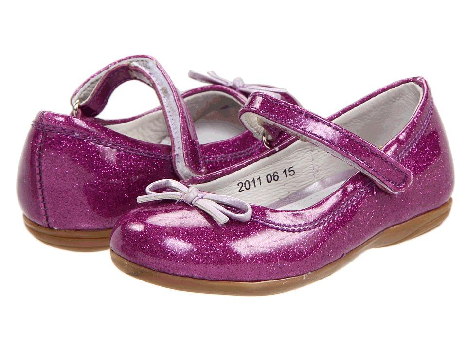 Kid Express - Josie (Toddler/Little Kid/Big Kid) (Purple Glitter Patent) Girl's Shoes