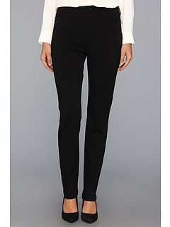 SALE! $54.99 - Save $43 on NYDJ Cindy Slim Leg Ponte Knit Pant (Black) Apparel - 43.89% OFF $98.00