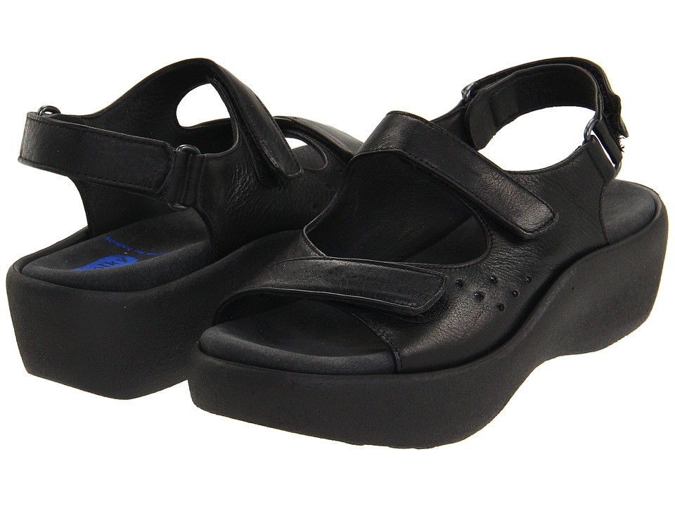 Wolky - Ruby (Black Softy) Women's Sandals