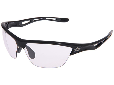 Bolle - Helix (Shiny Black/Photo Clear Gray Lens) Sport Sunglasses