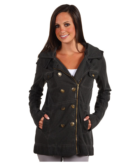Hurley - Winchester YC Zip Jacket (Cinder) Women's Jacket