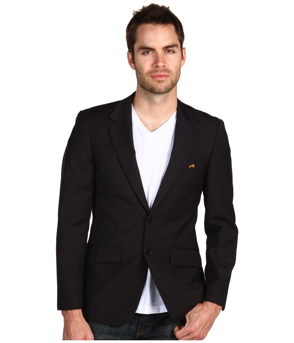 Moods of Norway - Rune Tonning Classic Blazer (Black) Men's Jacket