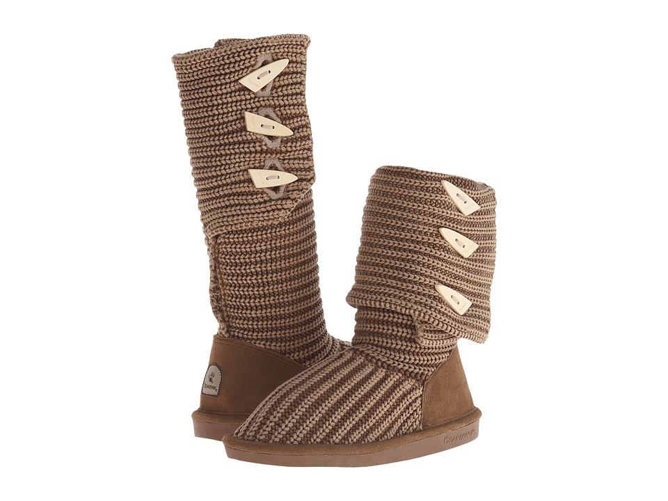 Bearpaw - Knit Tall (Hickory) Women