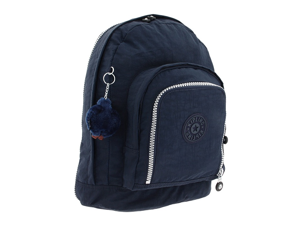 Kipling - Hiker Expandable Backpack (True Blue) Backpack Bags