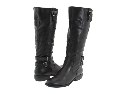 White Mountain - Logan (Black) Women's Dress Zip Boots