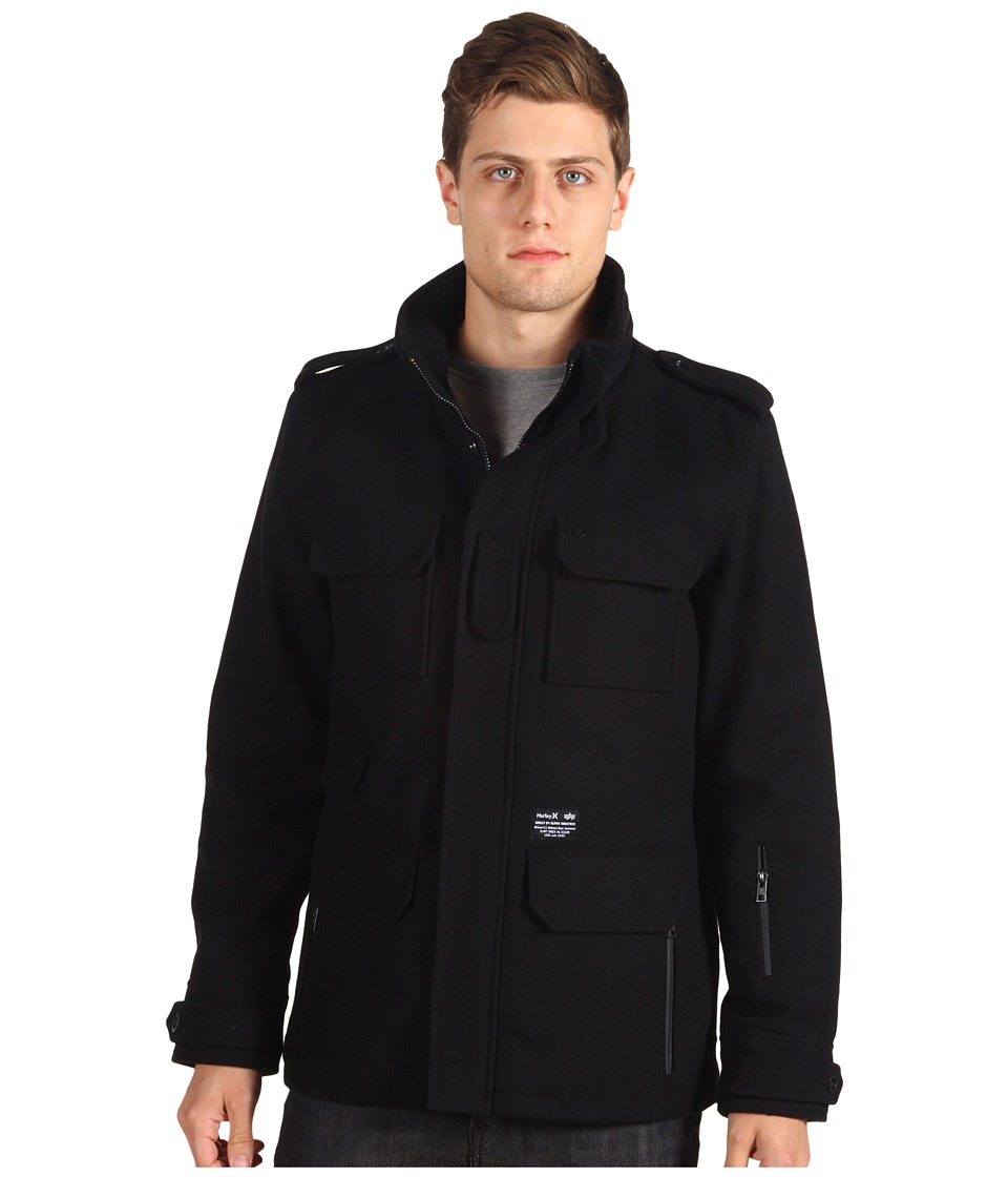Hurley - Alpha 65 Jacket (Black) Men