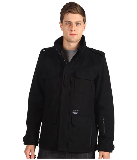 Hurley - Alpha 65 Jacket (Black) Men's Jacket
