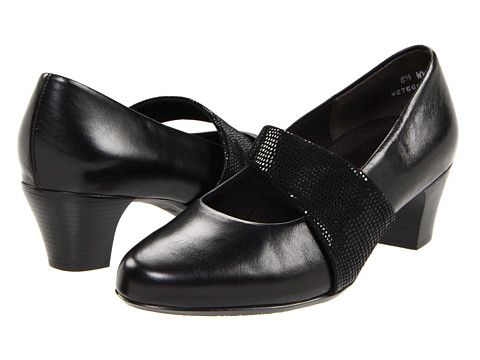 Munro American - Garbo (Black Kid) Women's Maryjane Shoes