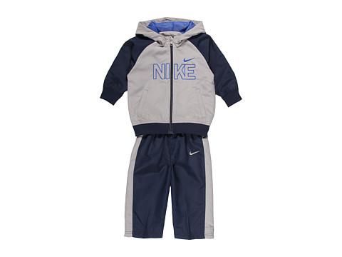 Nike Kids - Backfield Woven Warmup Set (Infant) (Obsidian) Boy