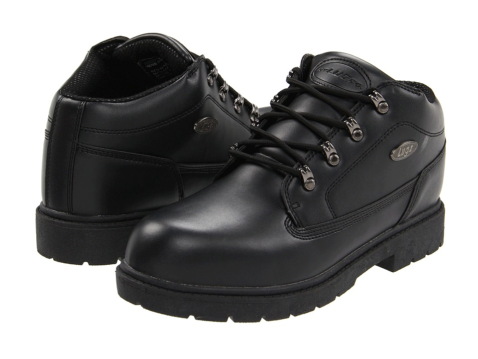 Lugz - Camp Craft SR (Black) Men's Lace up casual Shoes