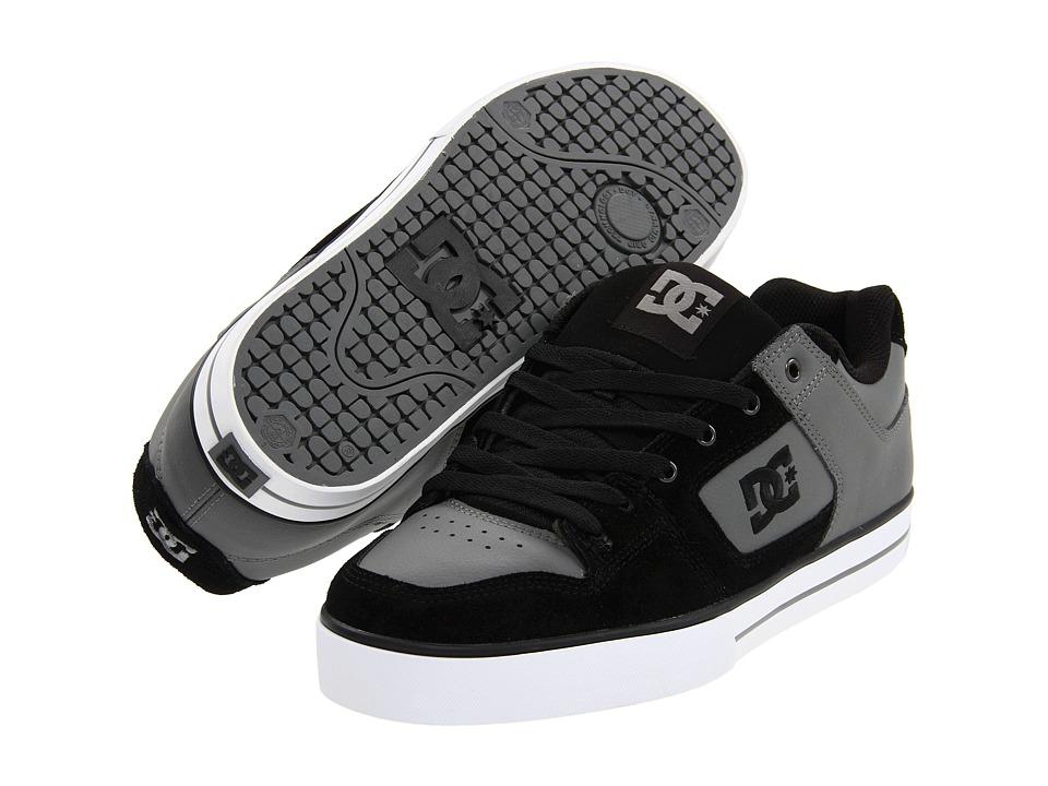 DC - Pure (Charcoal/Black) Men's Skate Shoes