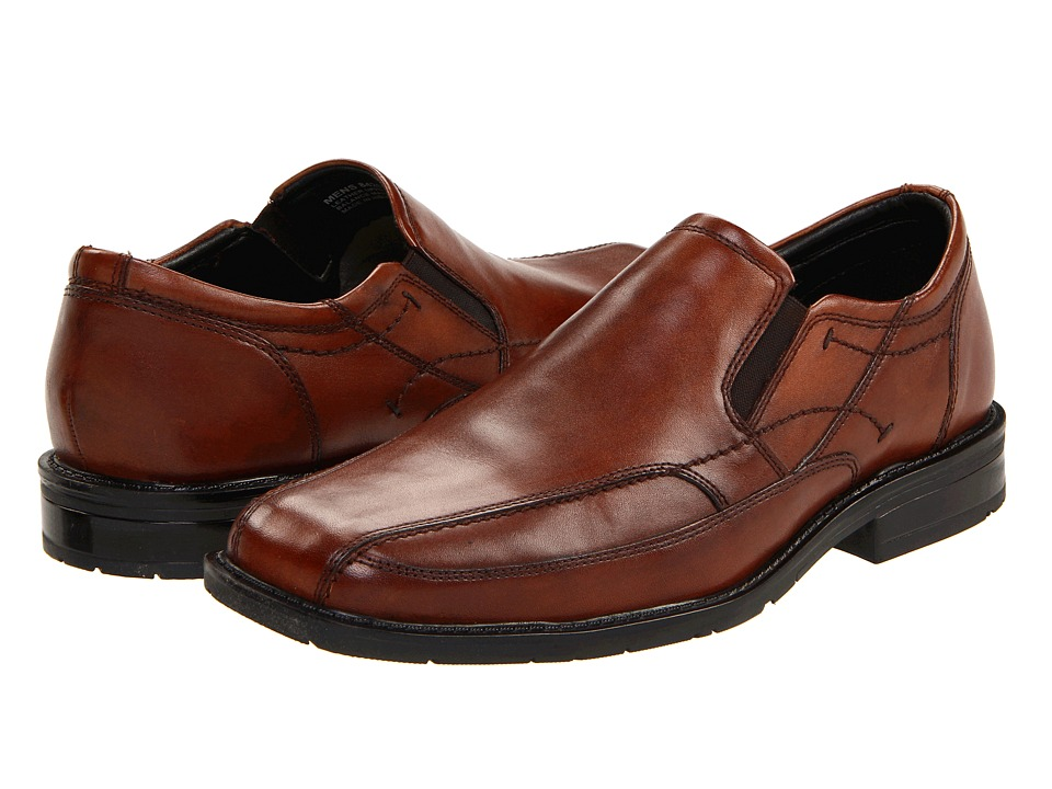 Nunn Bush - Kieran Bicycle Toe (Brown Smooth Leather) Men's Shoes