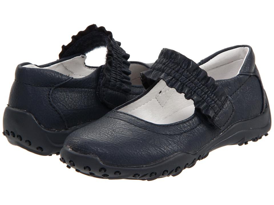 Nina Kids - Runalong (Toddler/Little Kid/Big Kid) (Navy) Girl's Shoes
