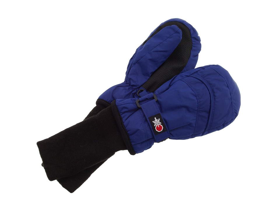 Tundra Boots Kids - Snow Stoppers Mittens (Infant/Toddler/Little Kids/Big Kids) (Navy) Extreme Cold Weather Gloves