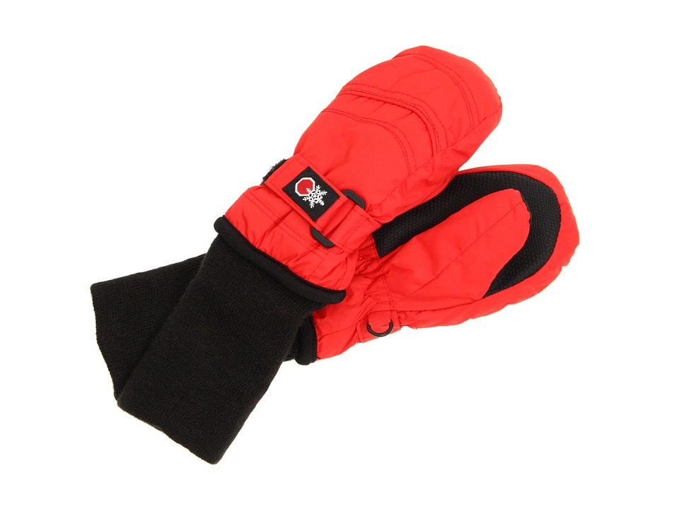 Tundra Boots Kids - Snow Stoppers Mittens (Infant/Toddler/Little Kids/Big Kids) (Red) Extreme Cold Weather Gloves